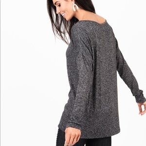 Charcoal urban pullover